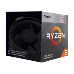 AMD Ryzen 5 3400G 3.7/4.2GHz AM4  4 Çekirdek,12NM, Radeon RX Vega 11 @ 1,4 GHz
