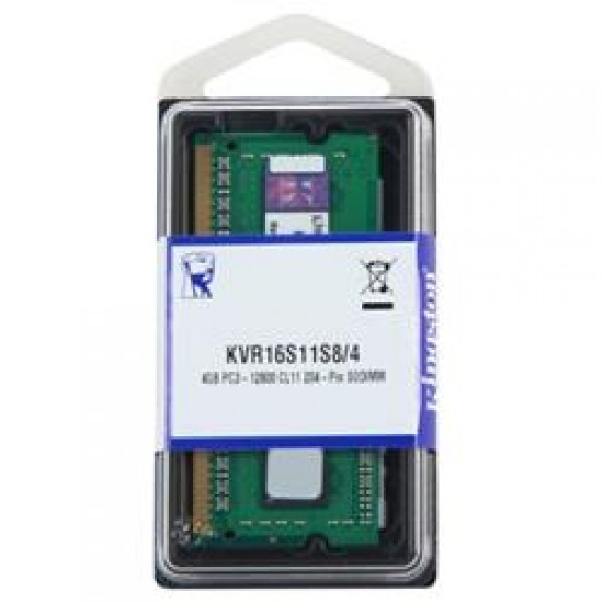 Kingston NTB 4GB 1600MHz DDR3 CL11 KVR16S11S8/4