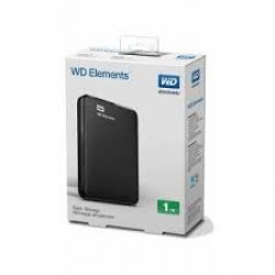 "WD 2.5"" 1TB Elements WDBUZG0010BBK Siyah  USB3.0"