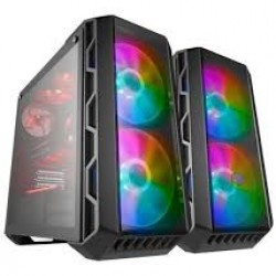 Cooler Master H500 ARGB Mid Tower Kasa PSU YOK  2xUSB3.0+2xUSB2.0 /Mesh&Akrilik Panel/ 2x200mm Fan