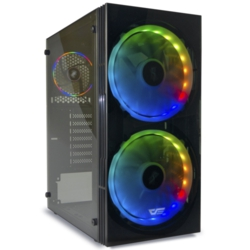 DarkFlash BF1 650W 80+Br RGB Mid Tower Kasa