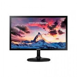 "Samsung 23,5"" LS24F350F LED Monitör 4ms Siyah  WIDE, 1920*1080,VGA,HDMI, Vesa"